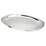 TRAVESSA INOX OVAL 41X26,3CM 18722 REGENT PC