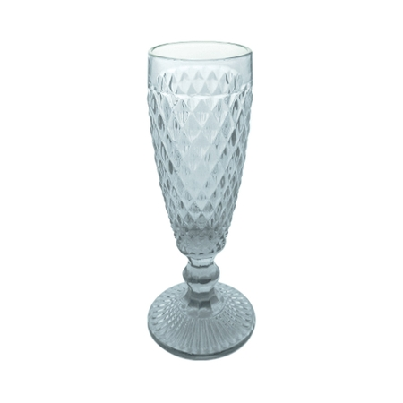 TACA CHAMPAGNE CLEAR VERRE 100 ML TC13806 MIMO PC