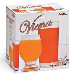 JOGO BAR VIENA 12PCS 130/009 * SOL GLASS JG